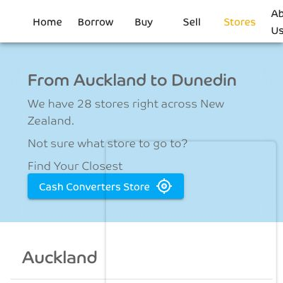 Cash Converters New Zealand - Stores